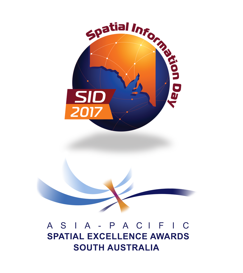 Spatial Information Day and Asia-Pacific Spatial Excellence Awards Logos